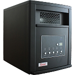 American Comfort ACW0063 Black 1500W Portable Infrared Heater