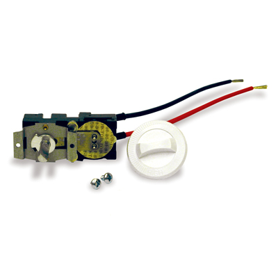 Cadet CTT1W Com Pak Plus Series Thermostat - Single Pole; White