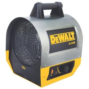 Dewalt Dxh330 Electric Forced Air Heater 11 260 Btu