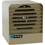 King Electric KB Space Heater w/Thermostat & Bracket - Gray