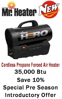 Mr Heater Mh35clp 35 000 Btu Battery Powered Cordless