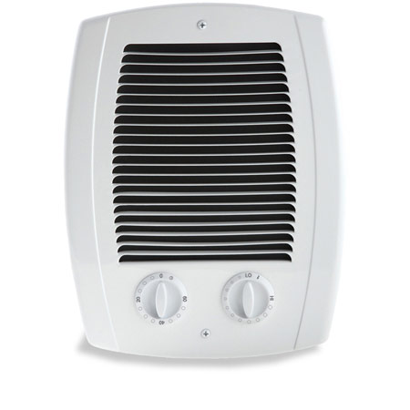 Cadet cbc103tw com pak bathroom heater with thermostat timer 1000 watt for Electric bathroom wall heaters
