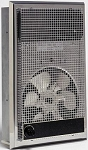 Qmark / Marley 1235 Residential / Commercial Economy Wall Heater with Thermostat - 120 Volt - 1500 Watts - Stainless