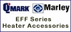 Qmark / Marley EFFT1 Single Pole Thermostat For EFF Ceiling Heaters