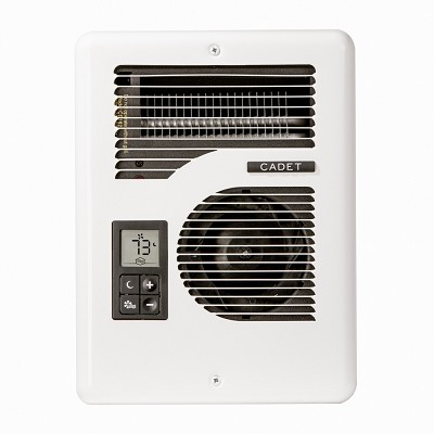 Cadet Cec163tw Energy Plus Fan Forced Wall Heater With