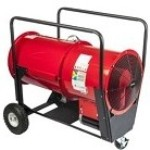 Chromalox SDRA-30-93 Super Dragon Portable Electric Blower Heater - 30,000 watts, 600 volts, 3 phase