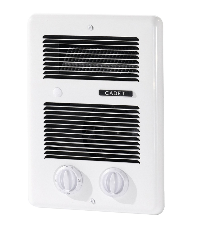 Electric Wall Heater Bathroom: Cadet CBC103TW Com Pak Bathroom Heater With Thermostat