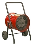 Qmark / Marley MEDH1021CKA Portable Electric Blower Heater - 10kW; 240 Volts, Single Phase - With Cord and Plug Kit