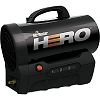 Mr. Heater MH35CLP 35,000 Btu Battery Powered Cordless Forced Air Portable Propane (LP) Heater