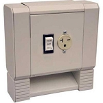 Qmark HBBAC Air Conditioner Outlet Section - Color: Navajo White