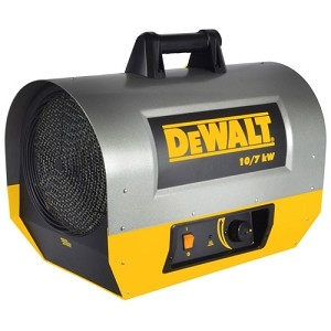 Dewalt DXH1000TS Electric Forced Air Heater - 34,121 / 23,884 BTU - F340645