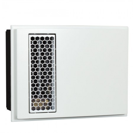 Cadet Apex72 ACH Apex72 decorative cover with hexagonal outlet grill - White