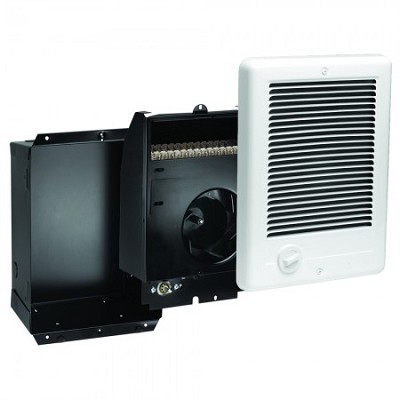 Cadet CSC151TW Com-Pak Fan Forced Wall Heater - Complete with grill, back-box and thermostat - 120 Volts - 1500 Watts - White
