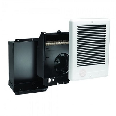 Cadet CSC102 Com-Pak Fan Forced Wall Heater - with heater/blower assembly, grill and back-box - No Thermostat - 208/240 Volts - 750/1000 Watts
