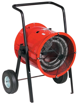 Chromalox DRA-15-23 Dragon Portable Electric Blower Heater - 11250/15000 Watts - 208/240 Volts - Three Phase