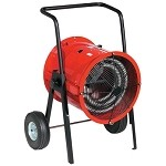 Chromalox DRA-30-43 Dragon Portable Electric Blower Heater - 30000 Watts - 480 Volts - Three Phase