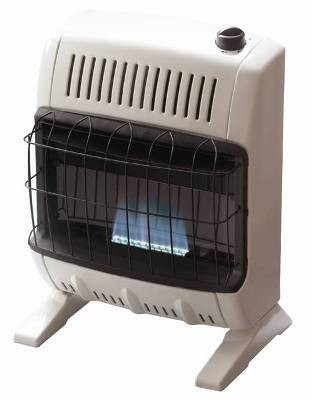 Mr. Heater MHVFB10NG 10,000 Btu Vent Free Blue Flame Natural Gas Heater - F255321