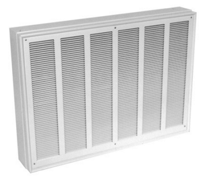 Qmark EFQ8008 Commercial Fan Forced Wall Heater - 8000 Watts - 208 Volts - Built-in Thermostat