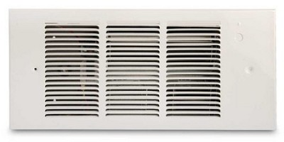 Qmark QFG1512IFM Open Coil Fast Heating Wall Heater Insert, Blower & Cover Only - 120 Volts - 1500 Watts