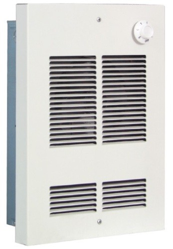 Qmark / Marley SED2024 Shallow Mount Fan Forced Electric Wall Heater - Northern White - 208 / 240 VAC - 1500 / 2000 Watts