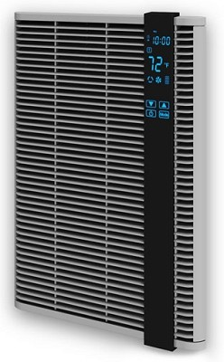 Qmark / Marley HT1502SS Residential Electric Fan Forced Digital Programmable Wall Heater - 120 Volt - 1500 Watts - 5 Year Warranty