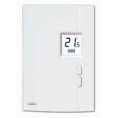 Honeywell Aube TH401 Non Programmable Wall Thermostat - 120 / 240 Volt - 10.4 amps
